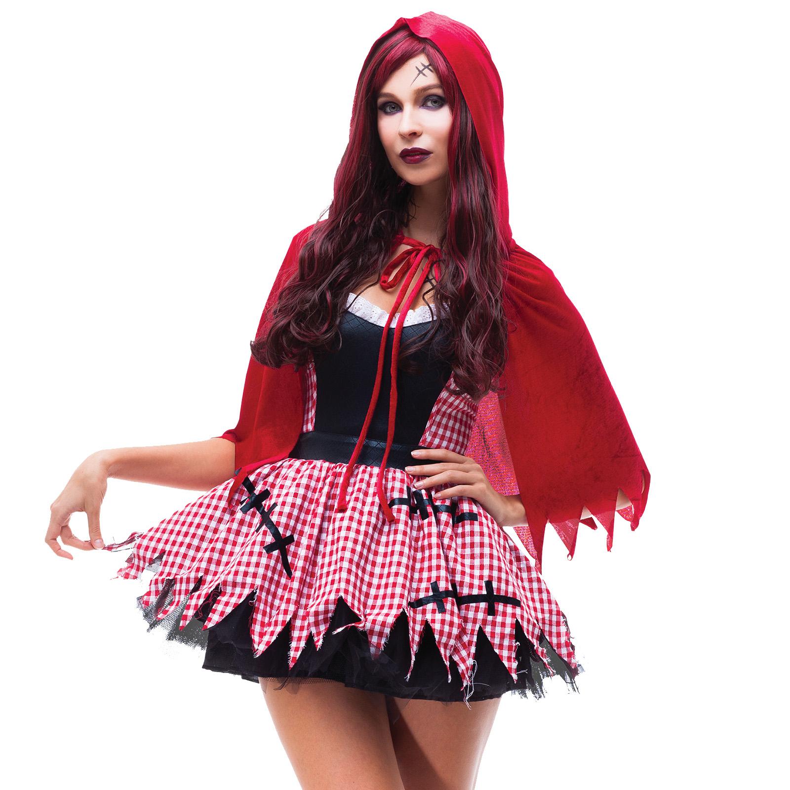fasching horror zombie kost m damen halloween kleid karneval mottoparty ebay. Black Bedroom Furniture Sets. Home Design Ideas