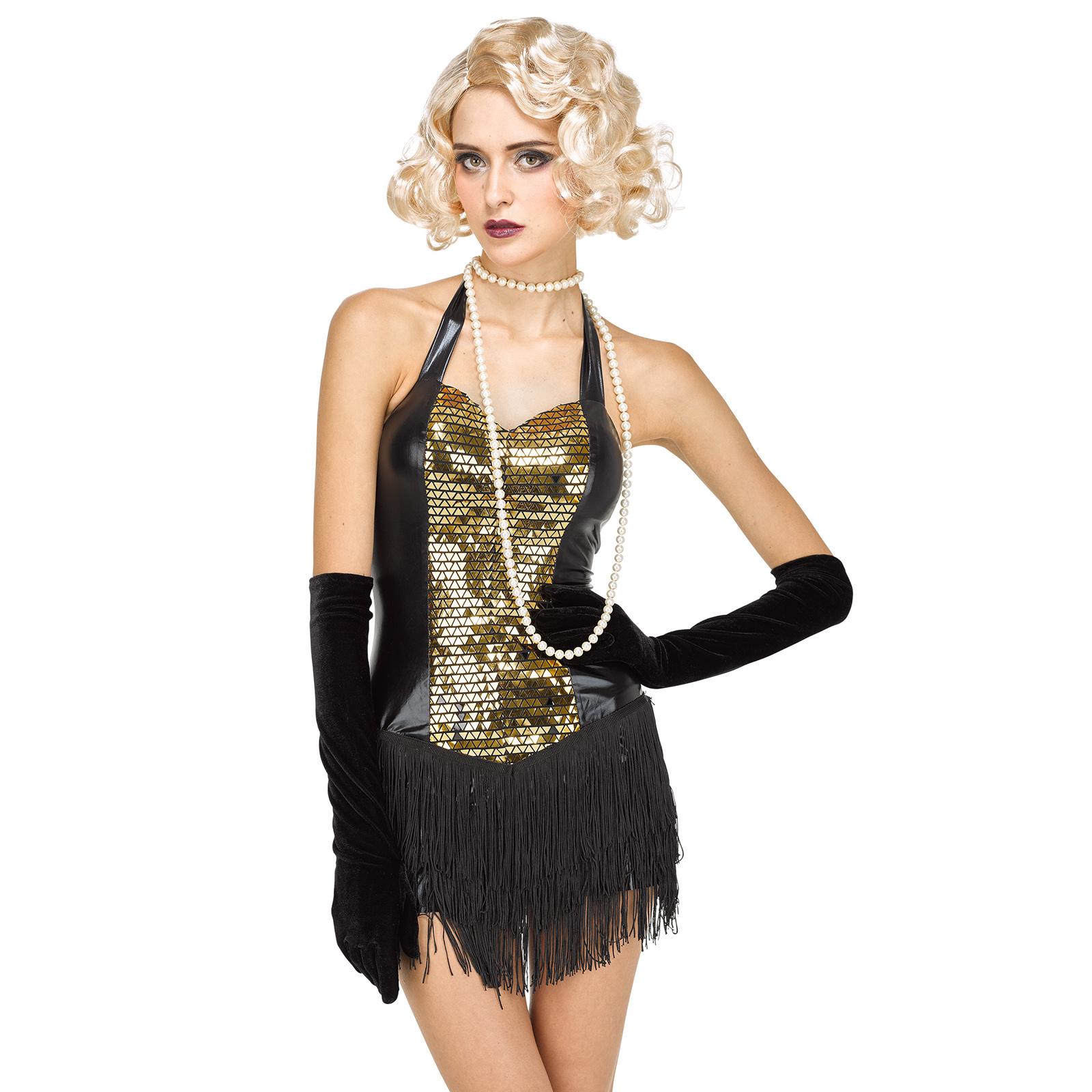 Detalles De 1920s Rústico Vestido Flapper Estilo Charleston Para Mujer Noche Fiesta Carnaval