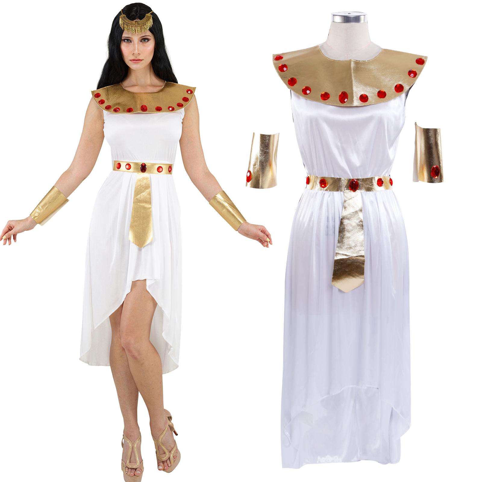 gypterin kost m gypten kleider cleopatra kleopatra cleopatrakost m halloween ebay. Black Bedroom Furniture Sets. Home Design Ideas