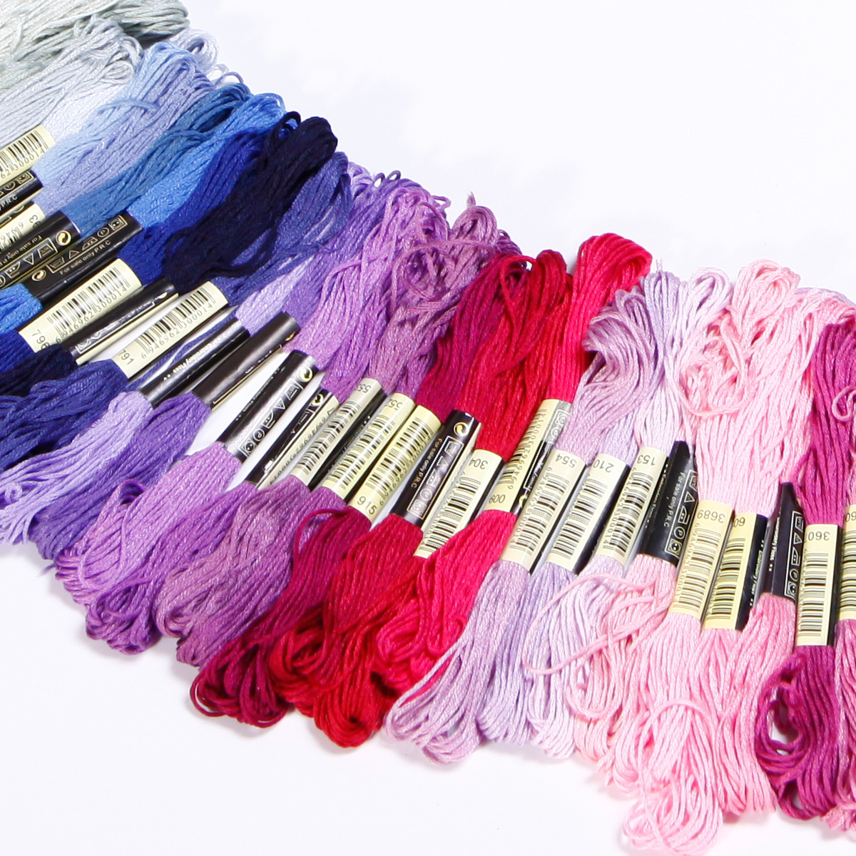 50-300-Color-Cross-Stitch-Thread-Embroidery-Floss-Sewing-Skeins-100-Cotton-Line thumbnail 11