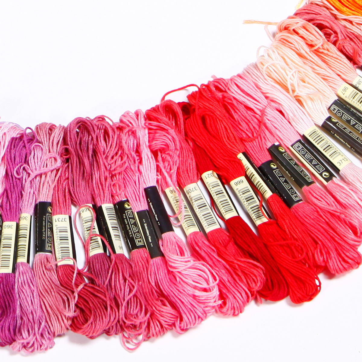 50-300-Color-Cross-Stitch-Thread-Embroidery-Floss-Sewing-Skeins-100-Cotton-Line thumbnail 7