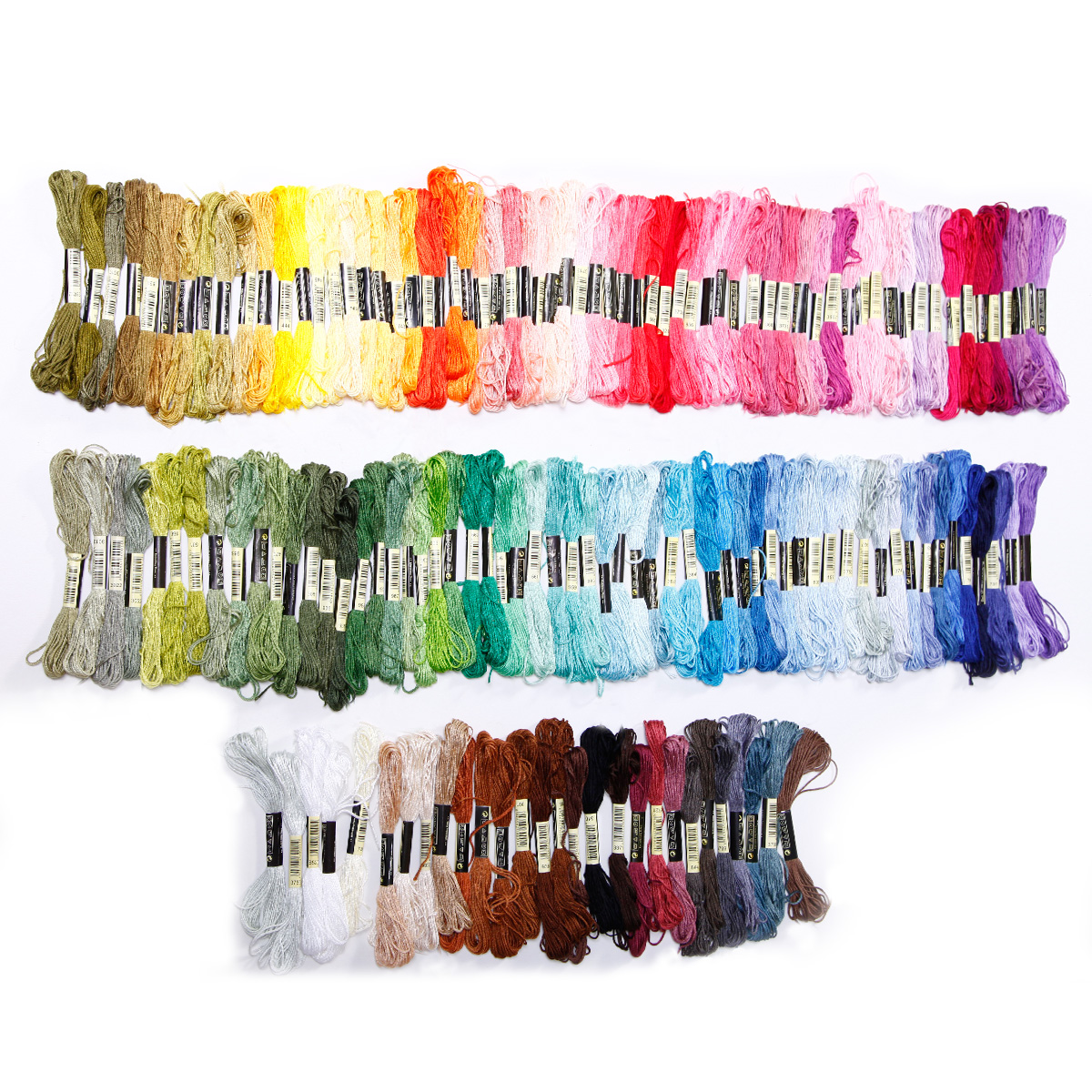 50-300 Color Cross Stitch Thread Embroidery Floss Sewing Ske
