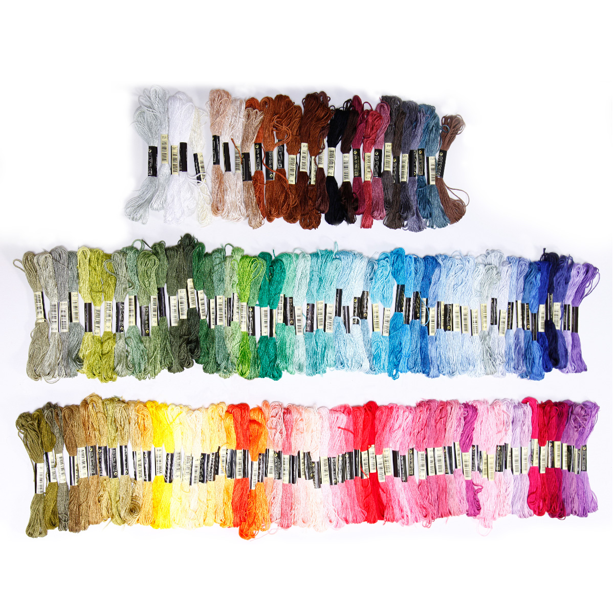 50-300-Color-Cross-Stitch-Thread-Embroidery-Floss-Sewing-Skeins-100-Cotton-Line thumbnail 15