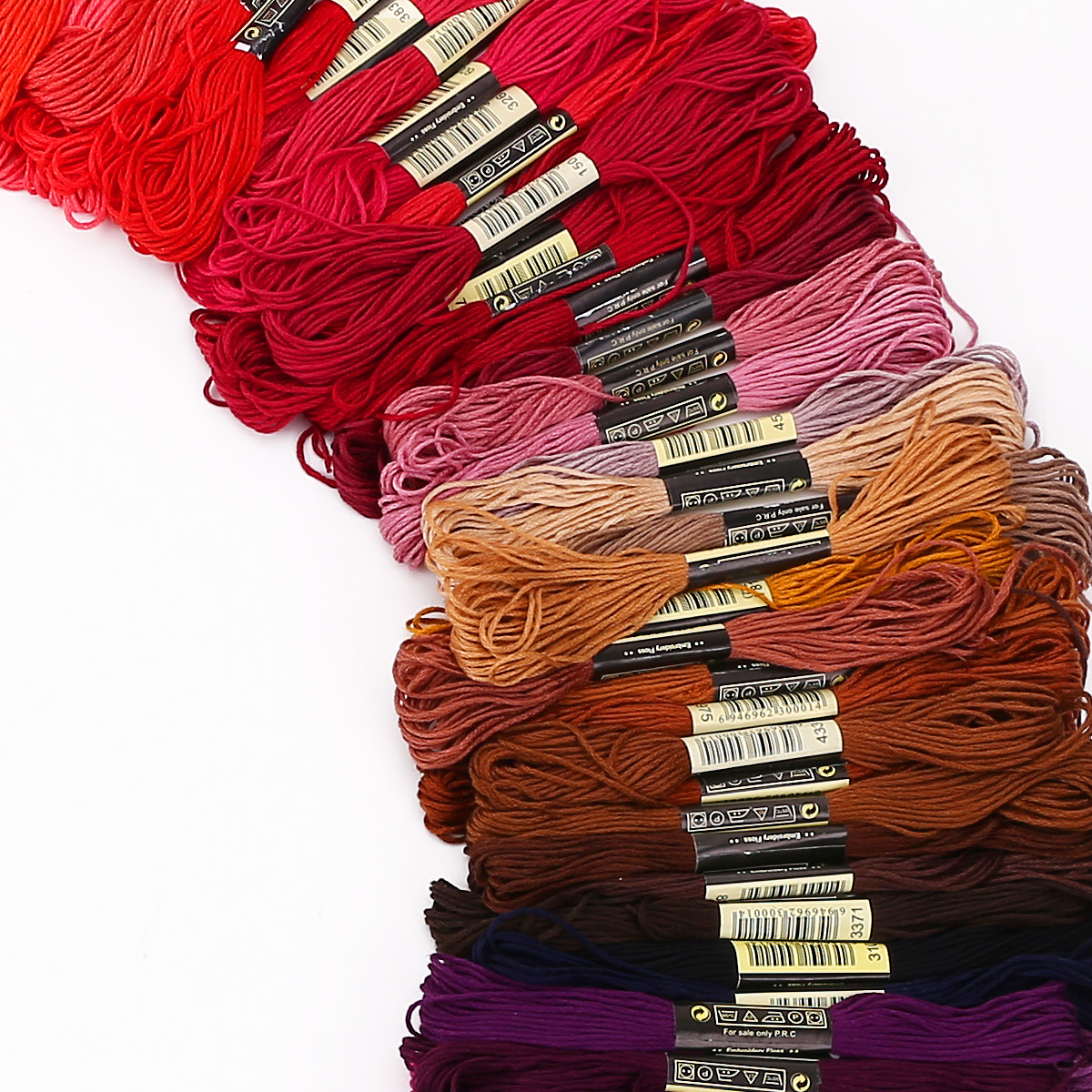50-300-Color-Cross-Stitch-Thread-Embroidery-Floss-Sewing-Skeins-100-Cotton-Line thumbnail 8