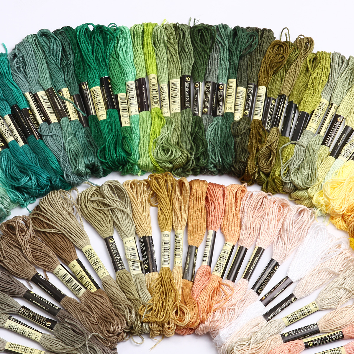 50-300-Color-Cross-Stitch-Thread-Embroidery-Floss-Sewing-Skeins-100-Cotton-Line thumbnail 5