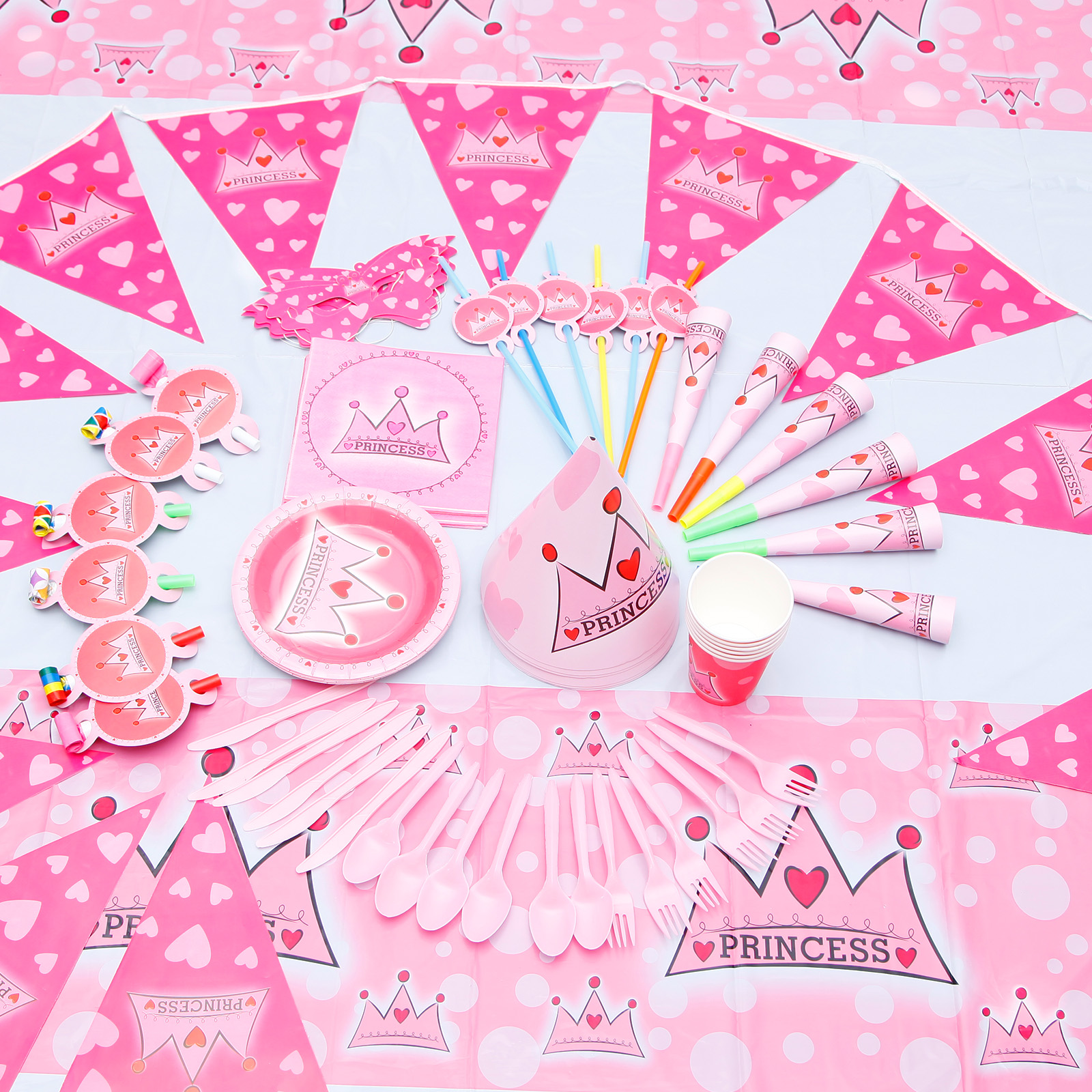 Traumhaft m dchen junge kindergeburtstag dekoration party for Kindergeburtstag deko set