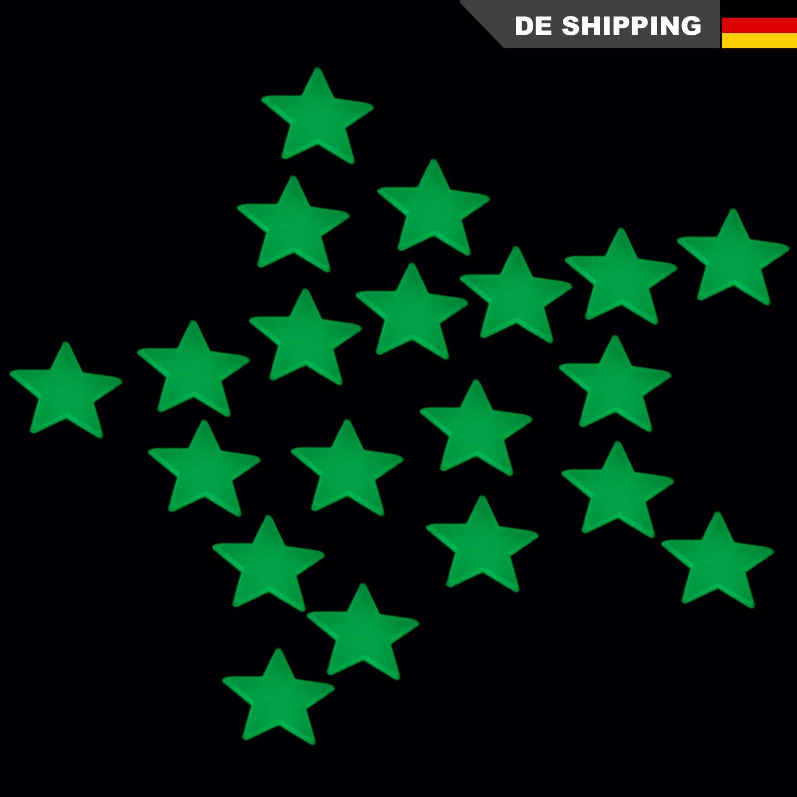 80er wandtattoo leuchtsterne leuchtend fluoreszierend sternenhimmel sterne ebay. Black Bedroom Furniture Sets. Home Design Ideas