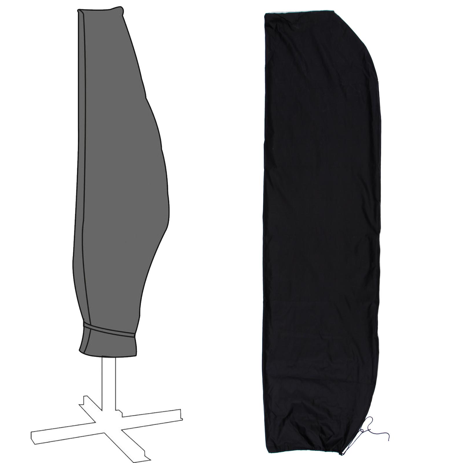 schutzh lle abdeckhaube f r gartenschirm sonnenschirm ampelschirm bis 3 5 meter ebay. Black Bedroom Furniture Sets. Home Design Ideas