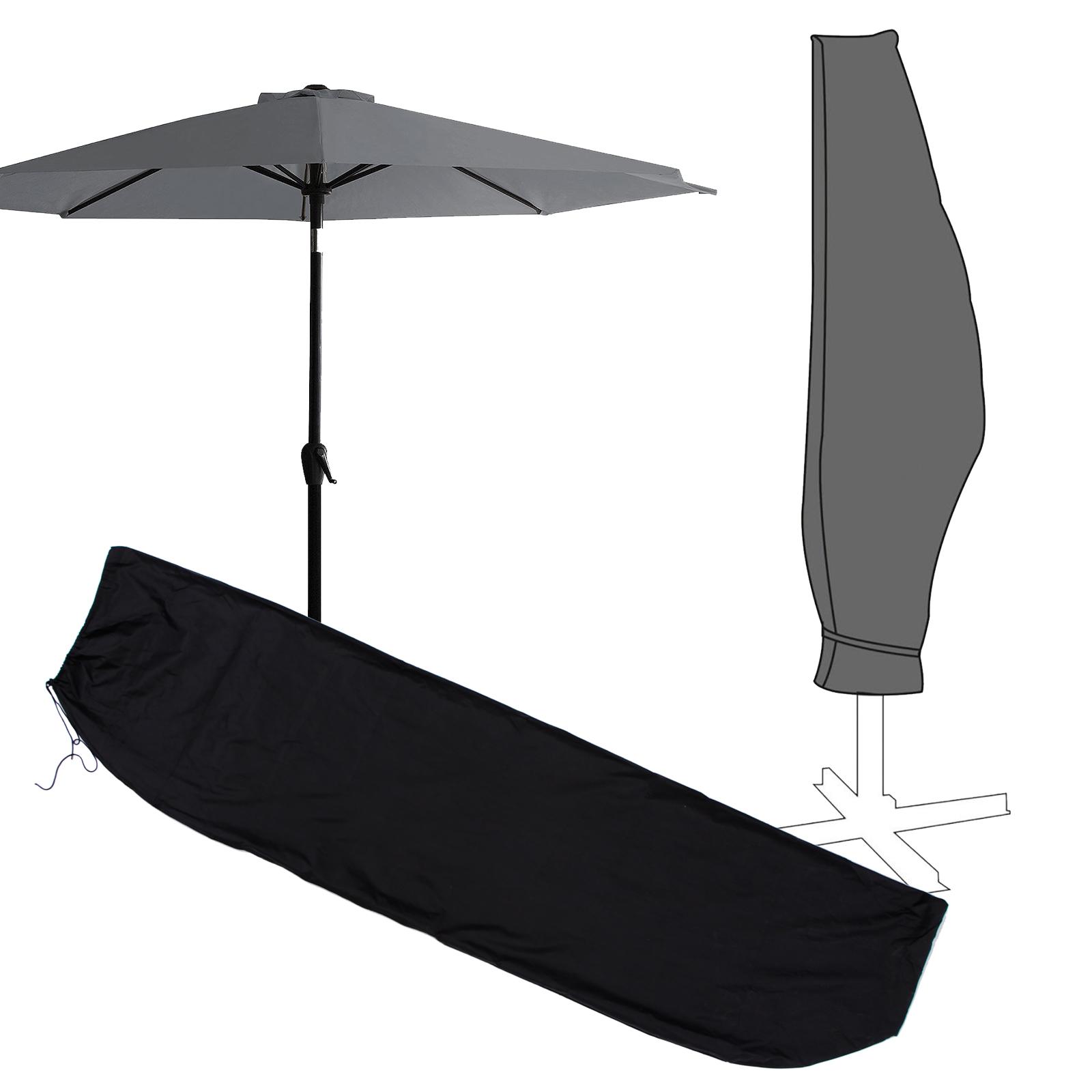Schutzhülle Sonnenschirm Oxford Polyester 420D Schutzplane Abdeckplane Abdeckung