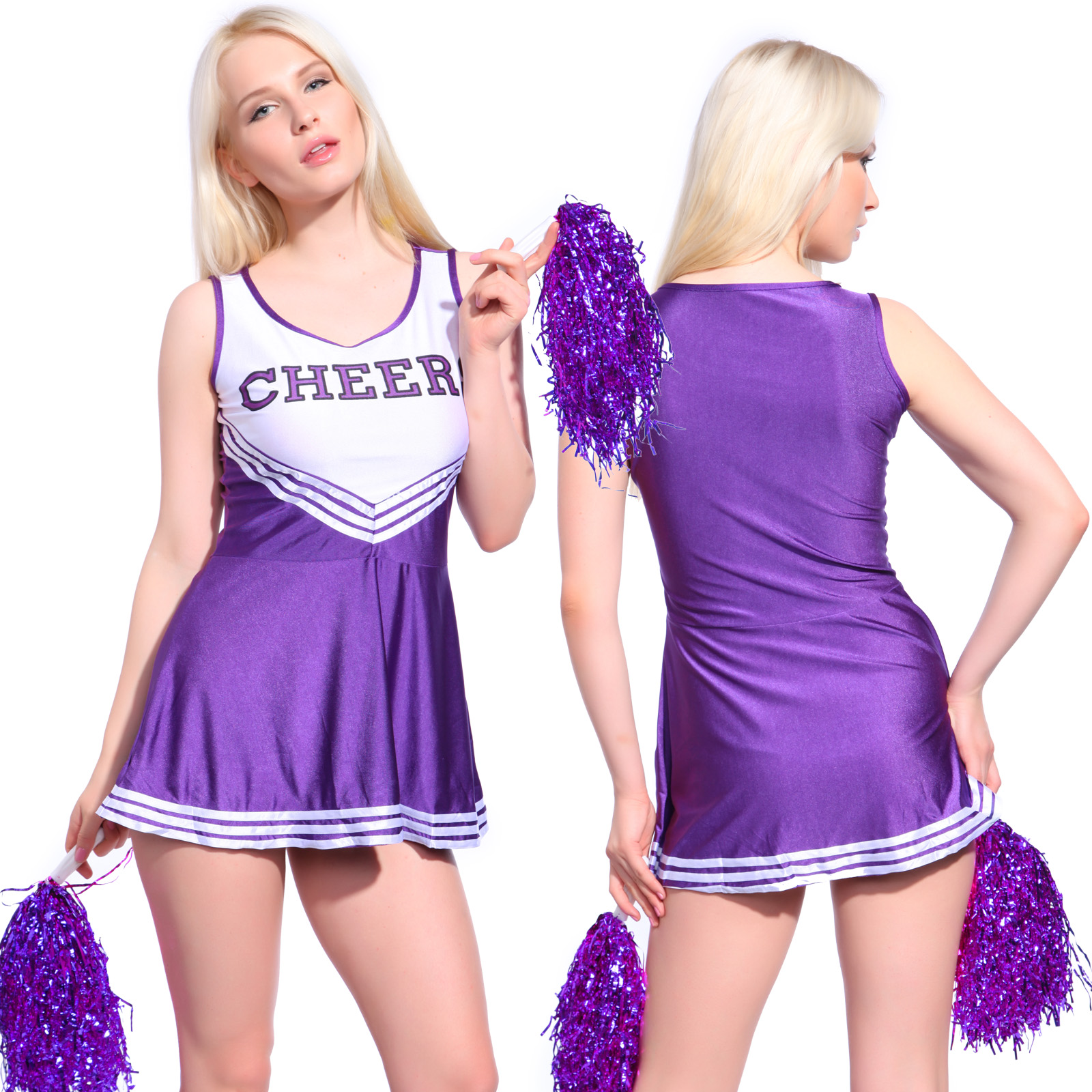 naked girls in cheerleading uniforms