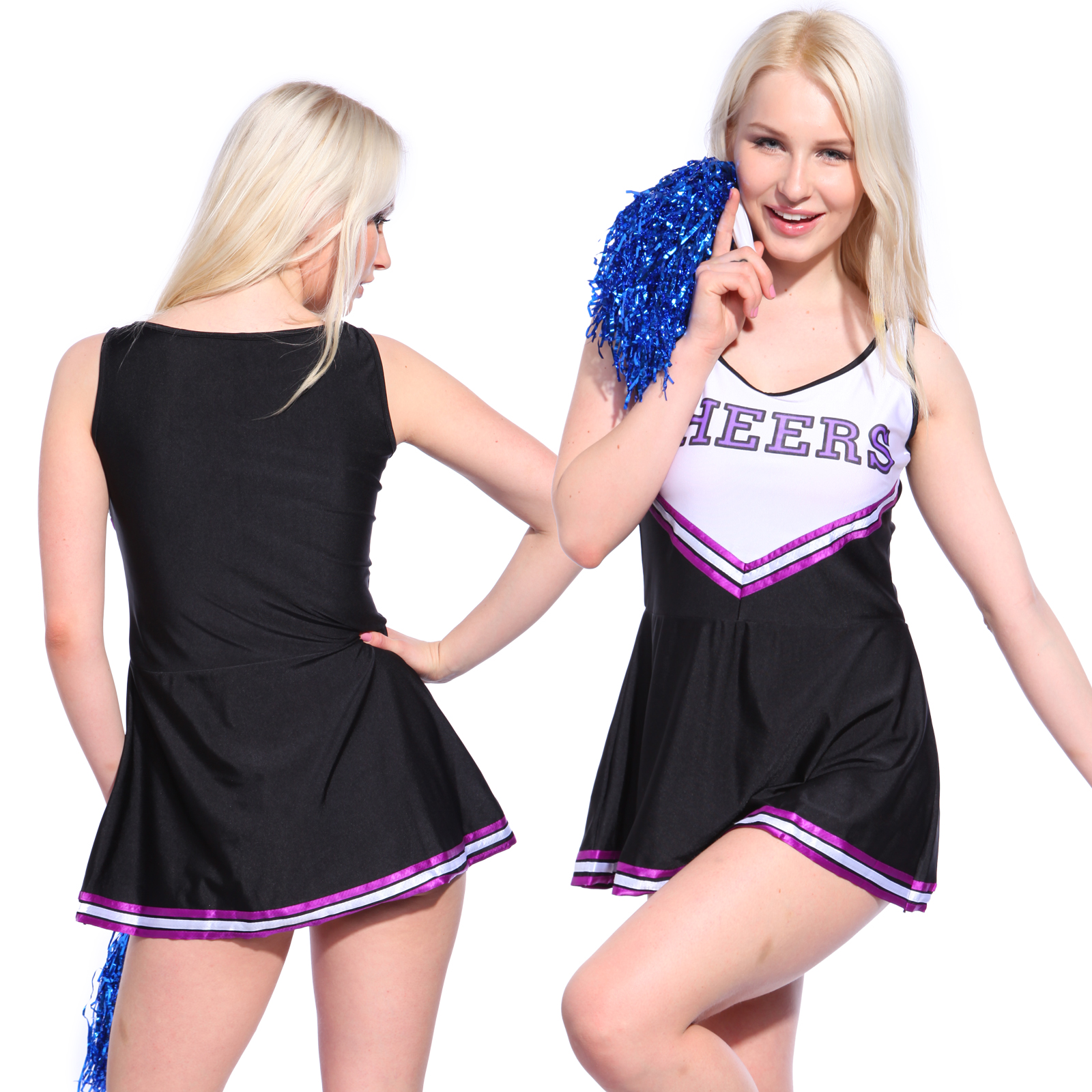Sexy high school cheerleading uniforms