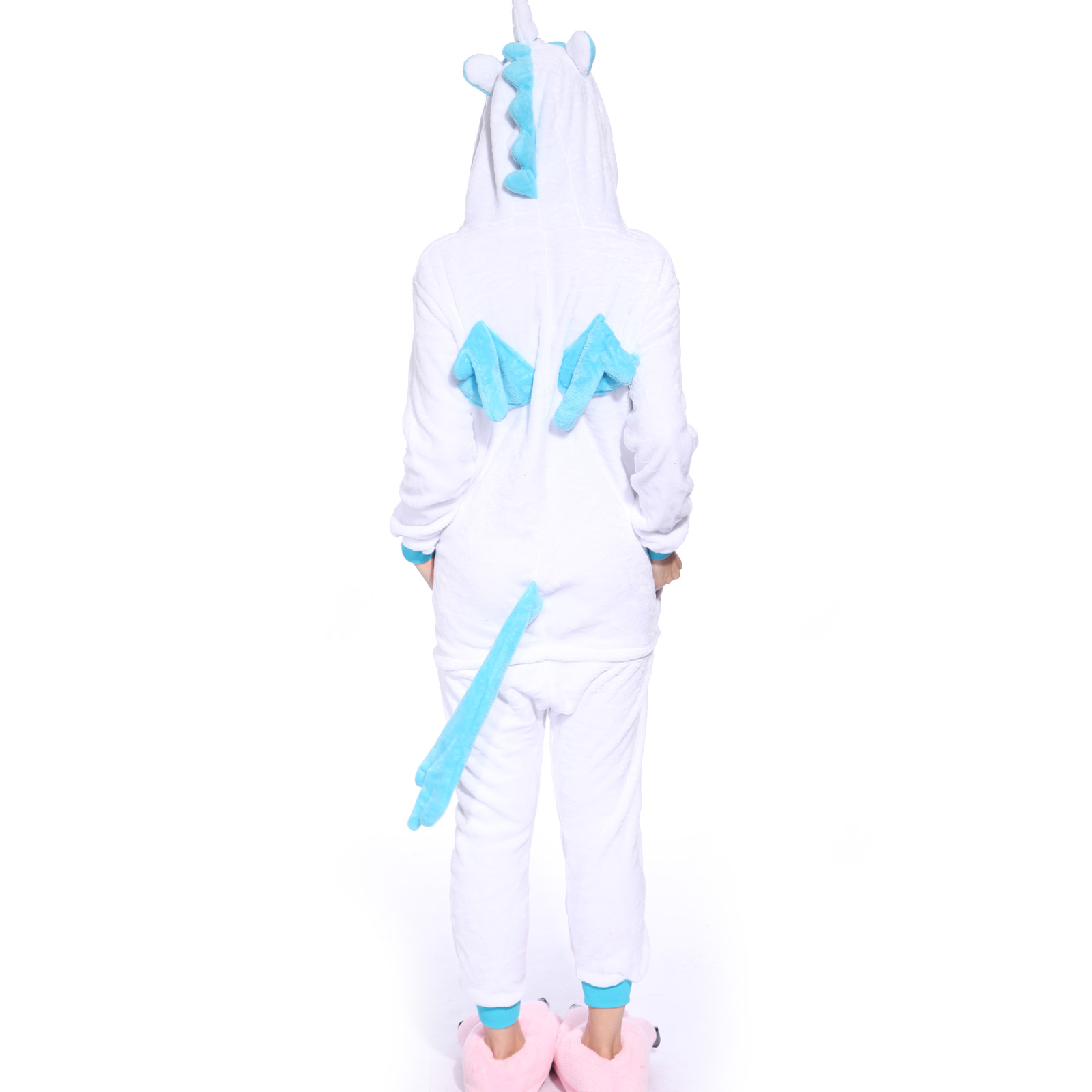 pyjama combinaison costume deguisement flanelle capuche licorne adulte carnaval ebay. Black Bedroom Furniture Sets. Home Design Ideas