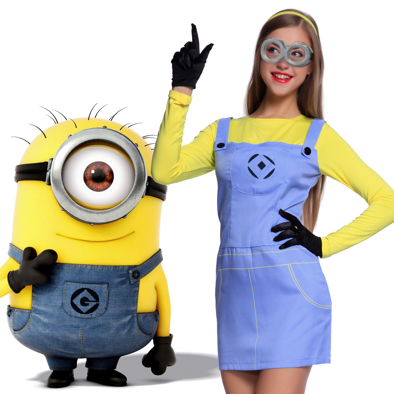 tenue costume deguisement 4pcs despicable me moi moche et. Black Bedroom Furniture Sets. Home Design Ideas