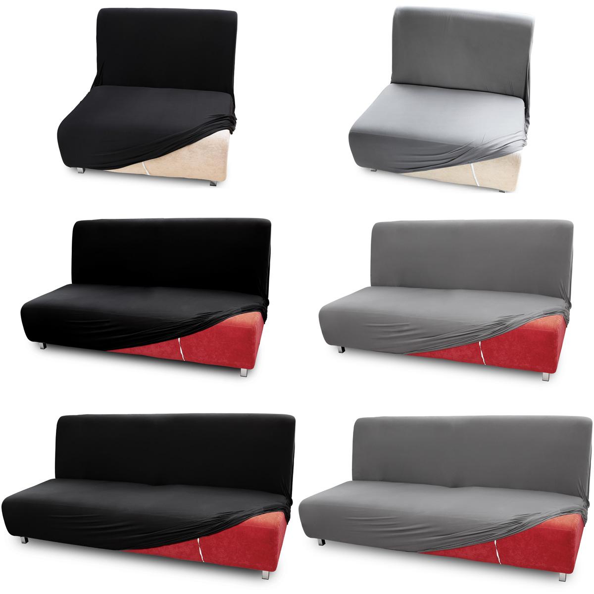 Fundas para sof s cama clic clac brazos de madera funda for Sofas de 3 plazas