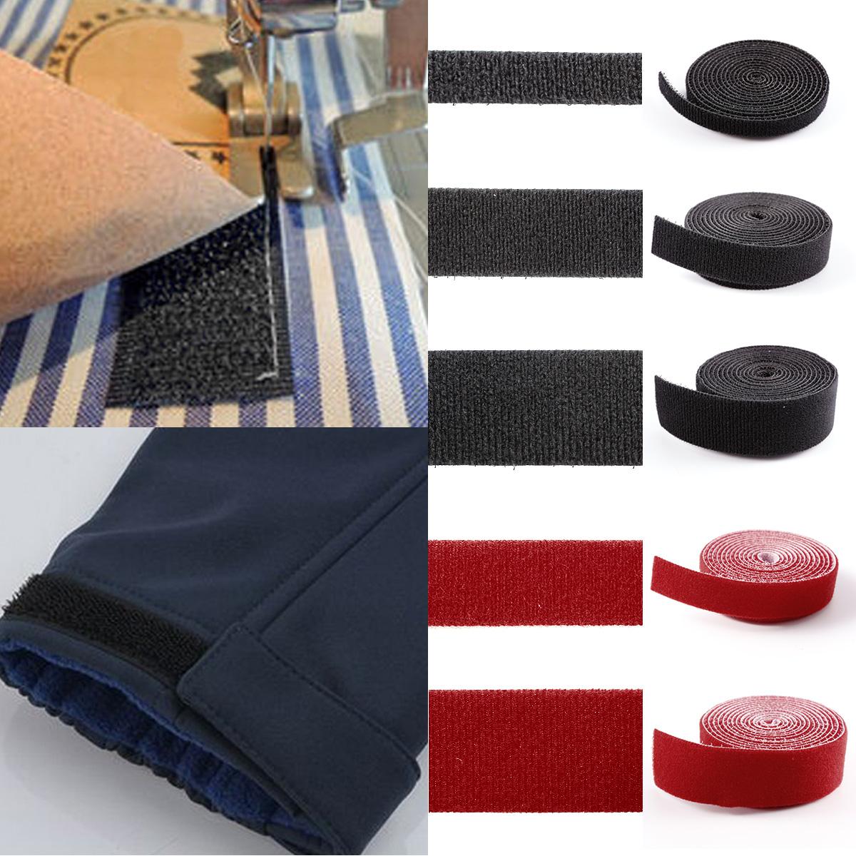 1 8 m klettband back to back beidseitig klettkabelbinder klettverschluss klett ebay. Black Bedroom Furniture Sets. Home Design Ideas