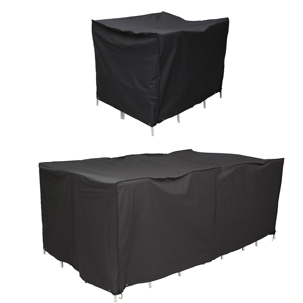 Cubierta flexible para mesa funda mueble jard n terraza - Fundas mesa jardin ...