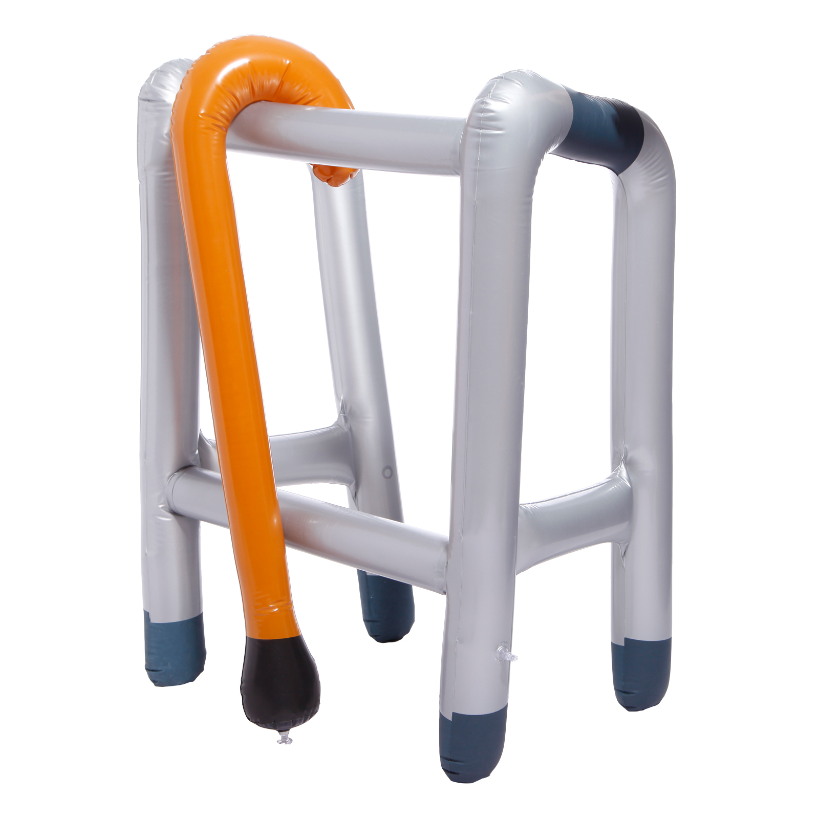 Inflatable Walking Stick Zimmer Frame Blow Up Toy Fancy Dress Party ...