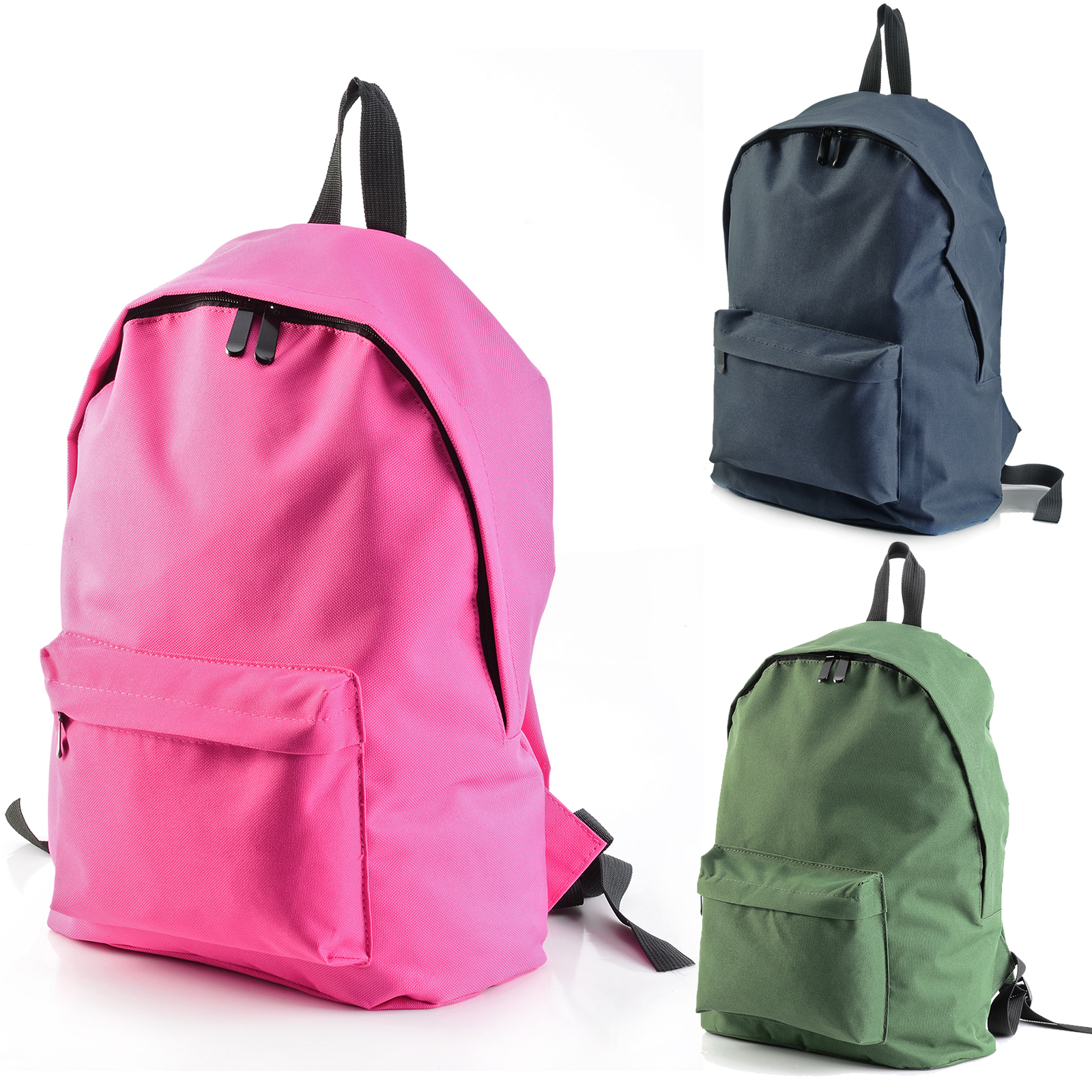 Details about Mens Boys Girls Retro Backpack Rucksack School College Travel  Laptop Work Bag 4b705b8406