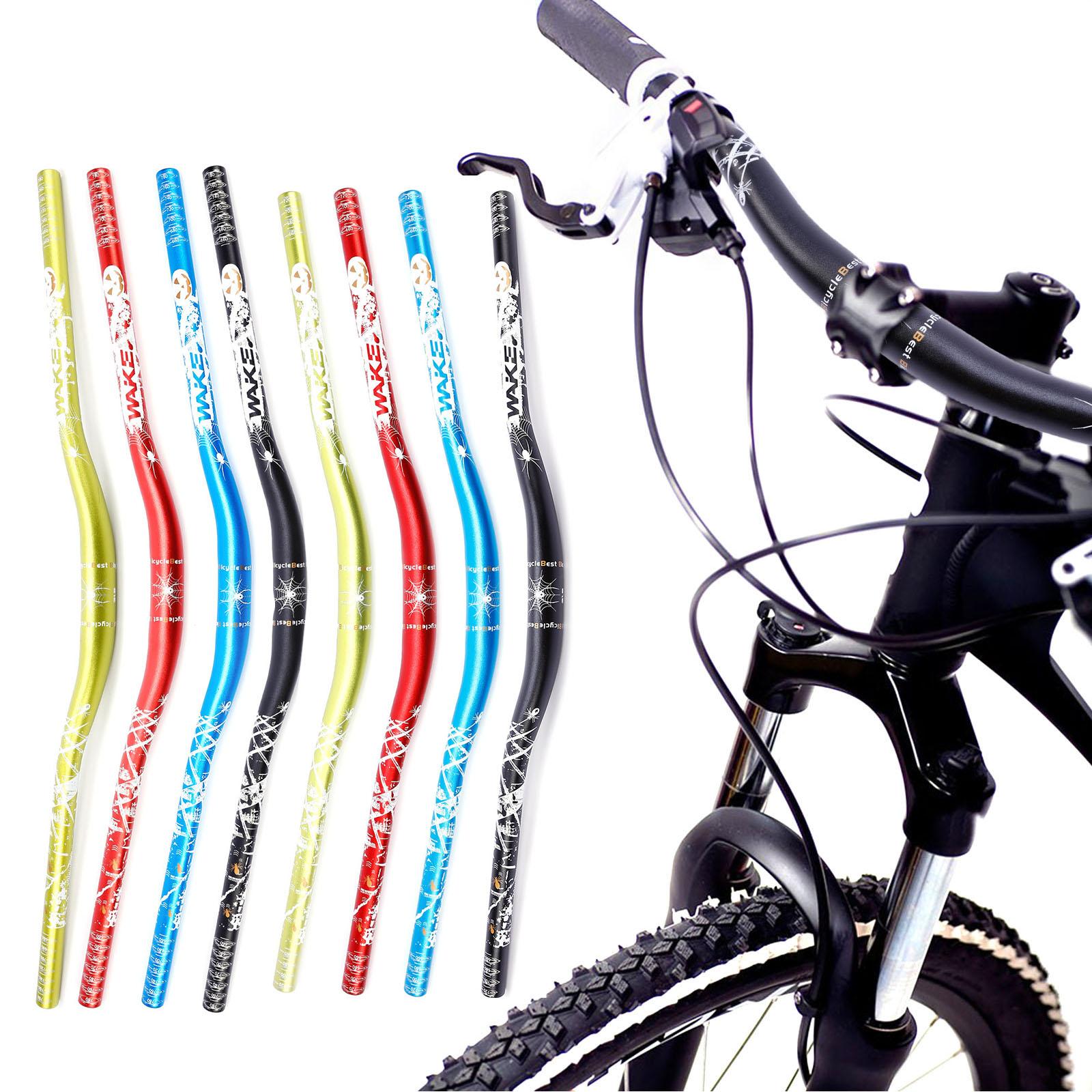 Alu Downhill Fahrrad MTB Lenker Riser Trekking 31.8mm 620mm Schwarz Rot Blau