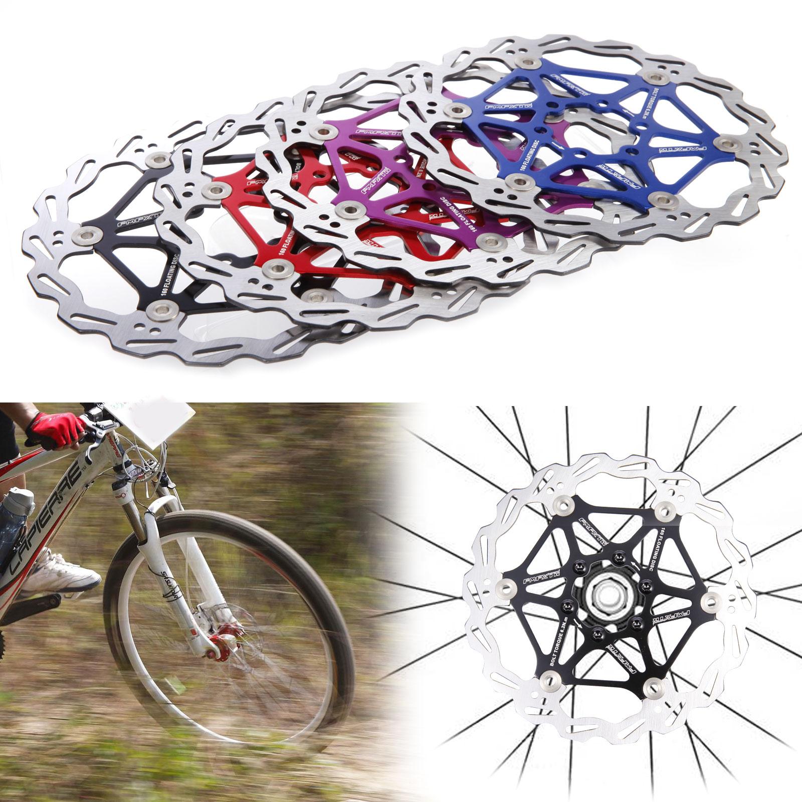 Mountain MTB Bike 160mm Floating Disc Road Bike Aluminum Brake Disc 6 Bolt Rotor