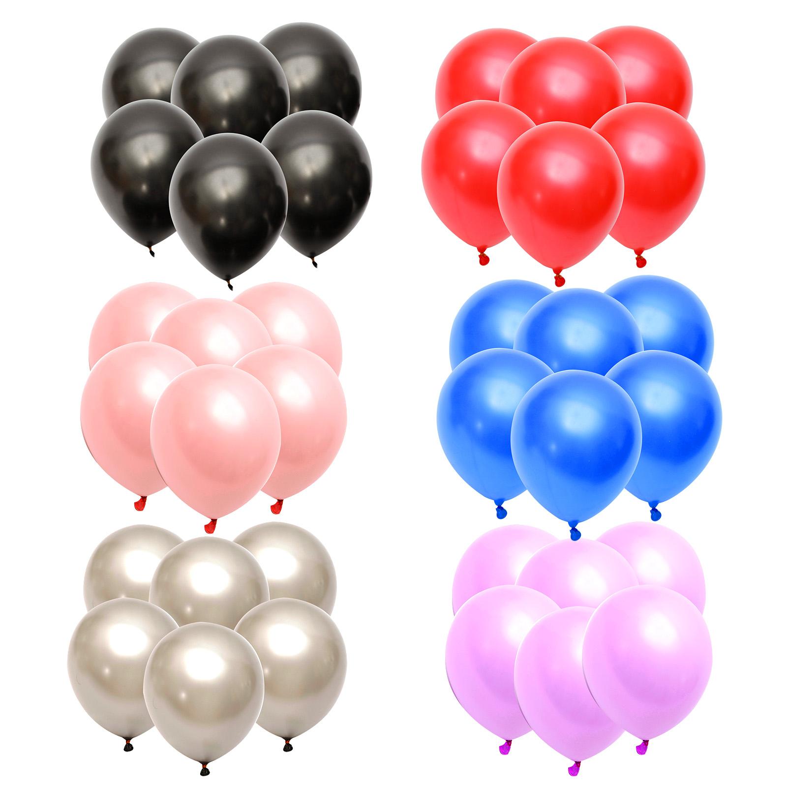 50 globos met licos perlada de l tex con helio para fiesta - Helio para inflar globos barato ...