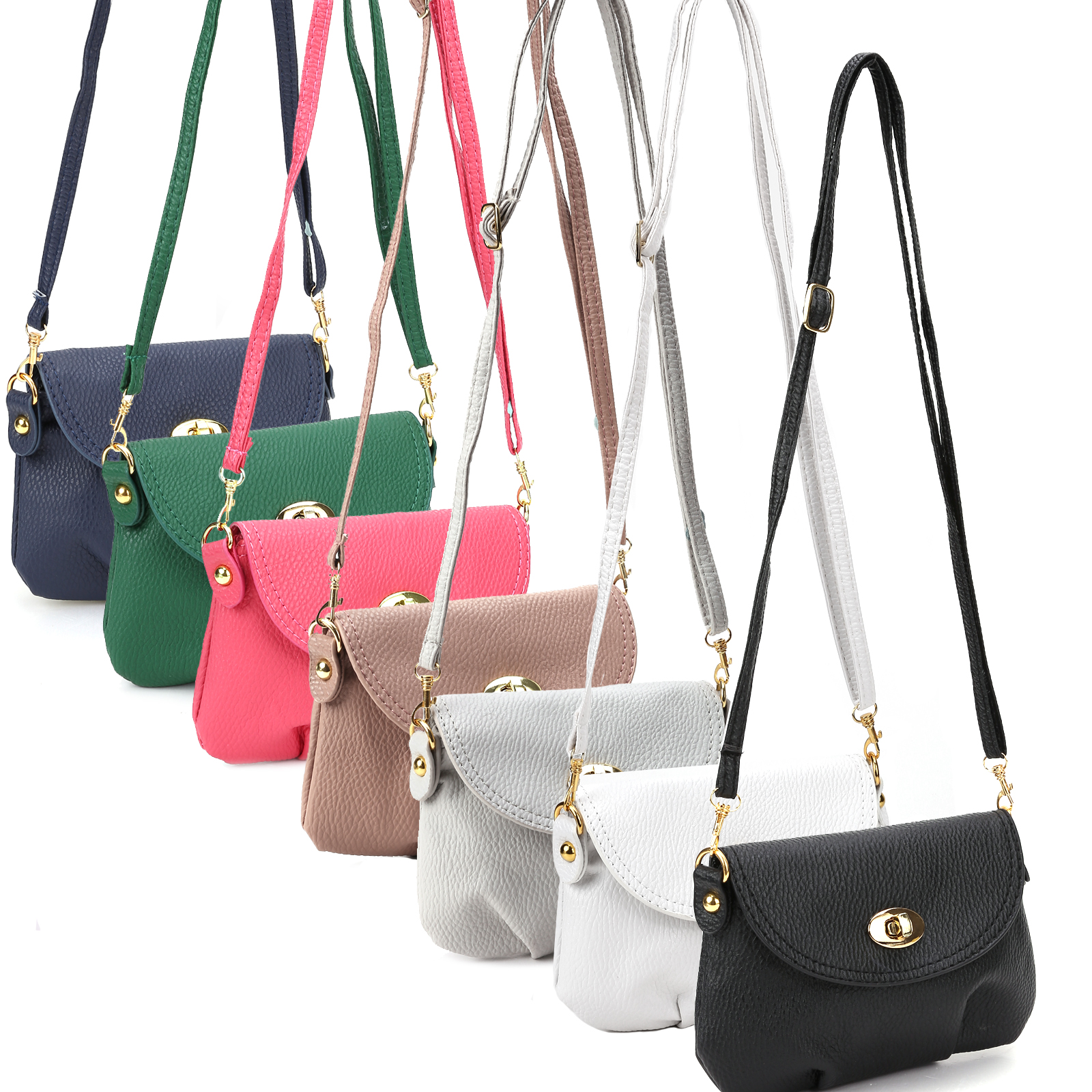 Ladies Small Satchel Leather Handbag Crossbody Shoulder Messenger Totes Bags 22e54484f2aea