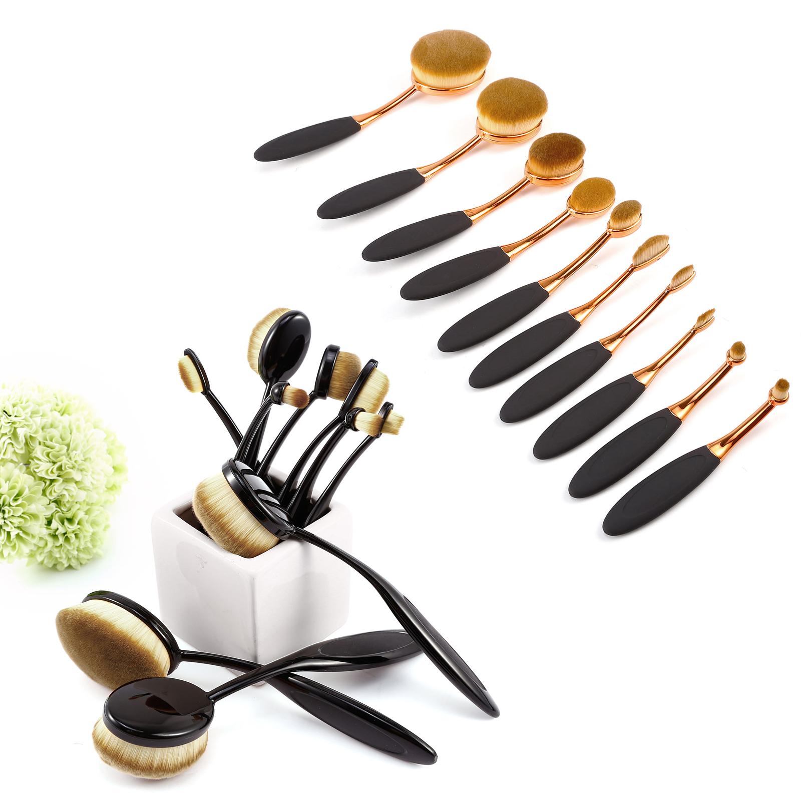 fr ulein 38 foundation pinsel make up pinsel schminkpinsel. Black Bedroom Furniture Sets. Home Design Ideas