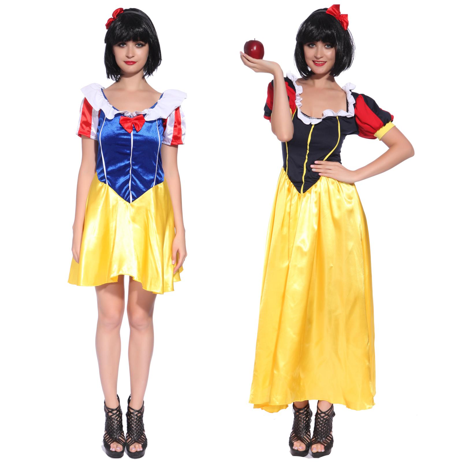 Schneewittchen Madchen Snow White Kleid Kostum Marchen Fasching