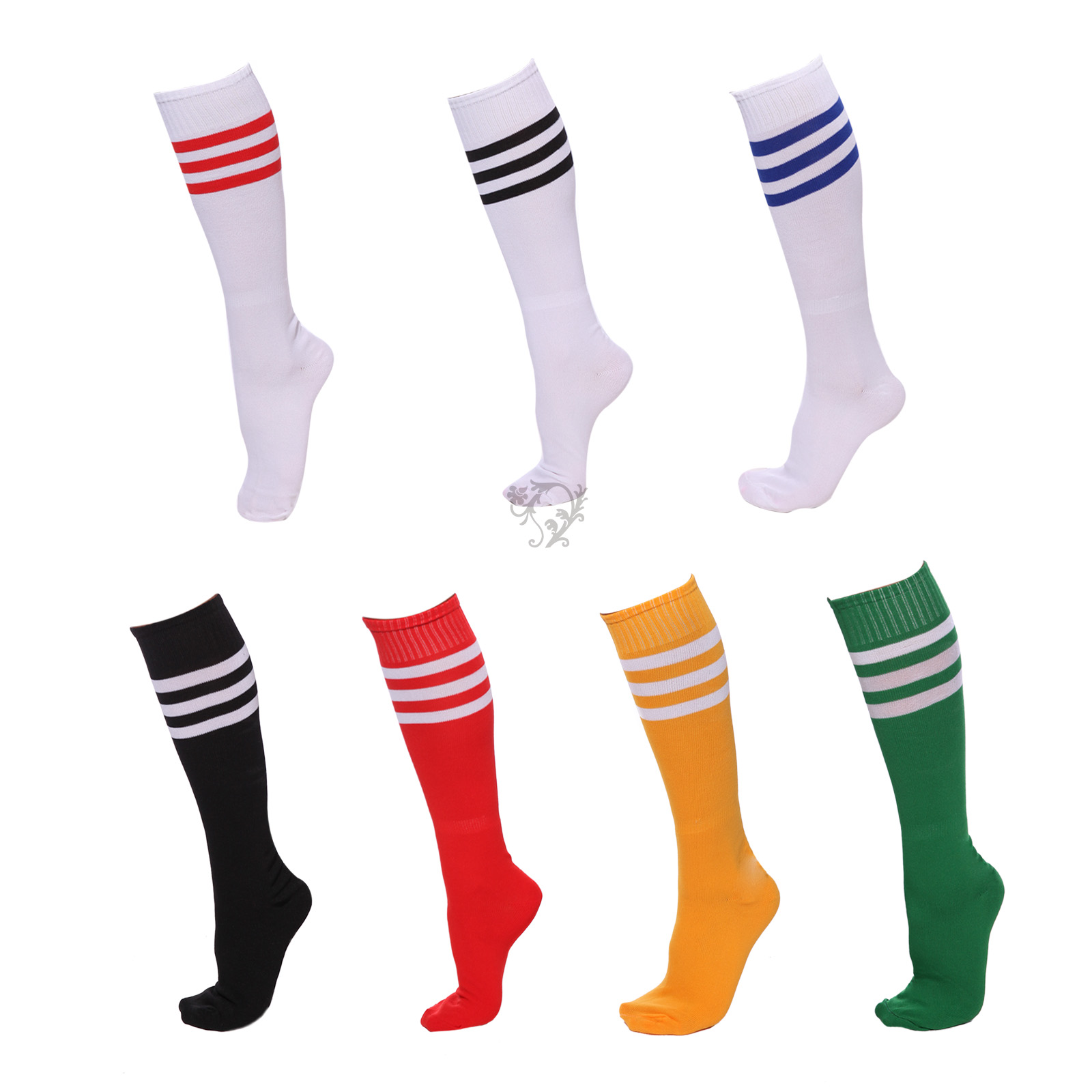 Cheer Leader over knee Socks Various colours  lingerie tights