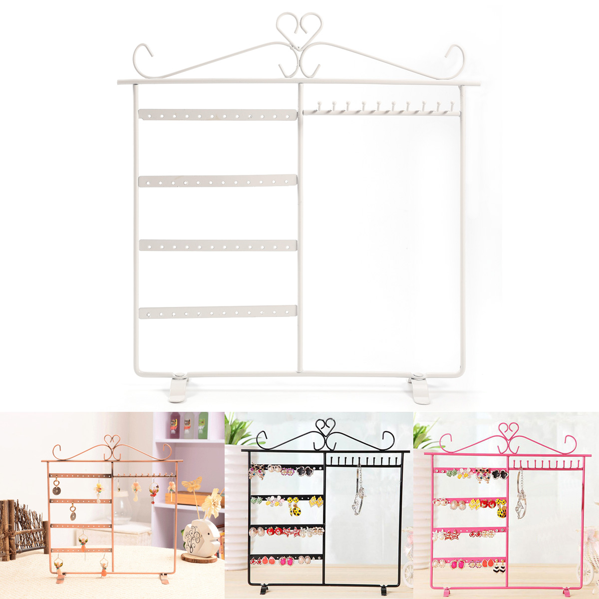 ohrringe halter ohrstecker aufbewahrung organizer display. Black Bedroom Furniture Sets. Home Design Ideas