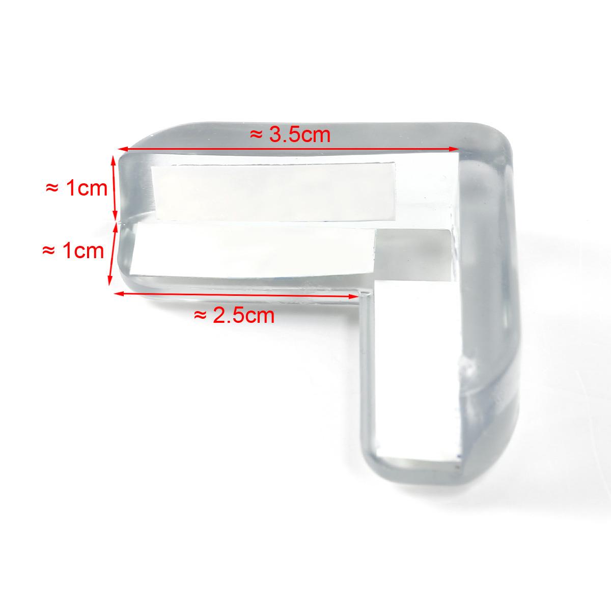 20 x silikon glastisch eckenschutz kantenschutz f r kinder baby sicherungspuffer ebay. Black Bedroom Furniture Sets. Home Design Ideas
