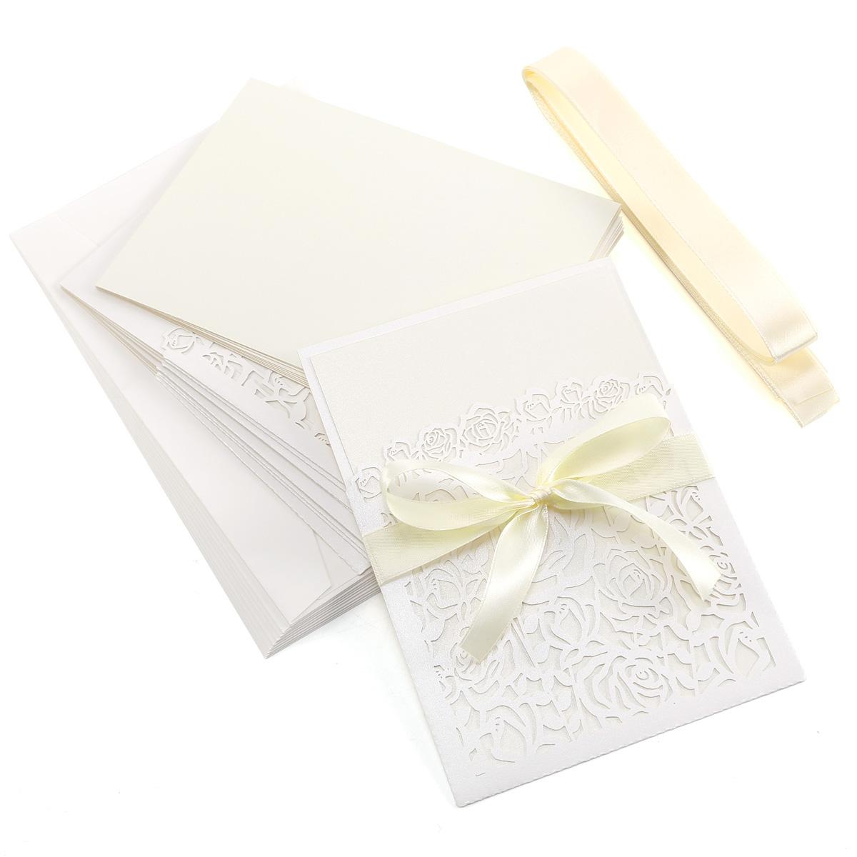 Matrimonio Regalo In Busta : Pz inviti partecipazioni busta carta vuota vintage