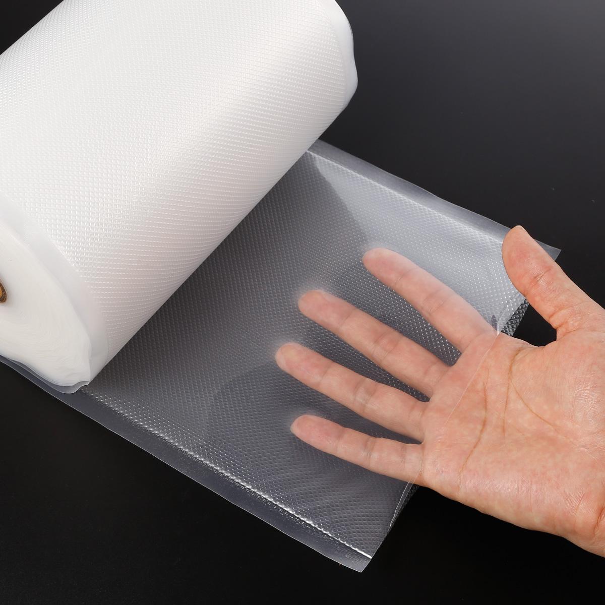 30m rouleau 20cm sac sous vide alimentaire boilable textur sac bouilli ebay. Black Bedroom Furniture Sets. Home Design Ideas