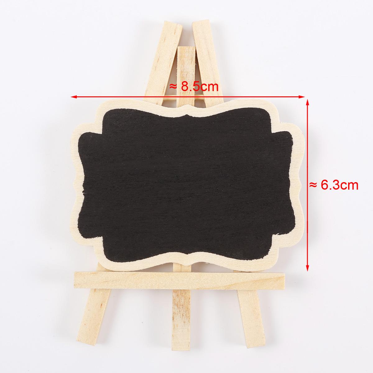 24x mini tableau noir crire message pour mariage restaurant caf bar 622 ebay for Ecrire sur un tableau noir