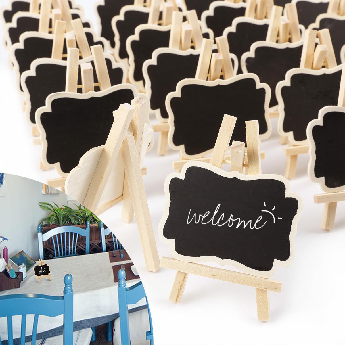 24 Vintage Holz Anhänger Tafel mit Hanfseil Platzkarte Tischnummer Hochzeit Tags