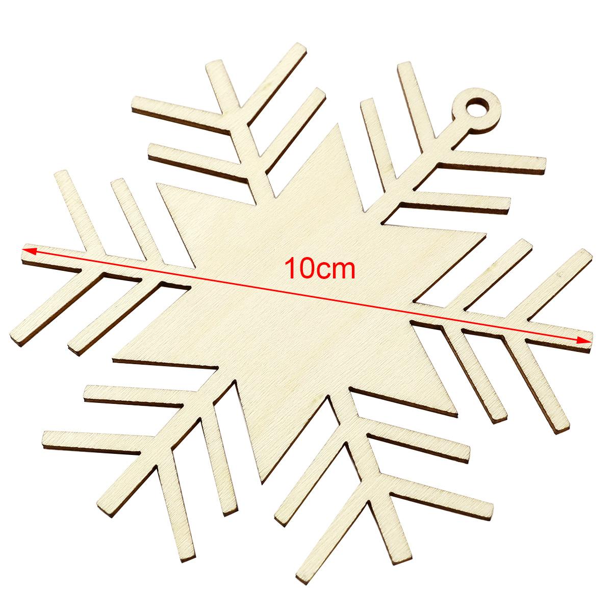 40 x 10cm Holz Anhänger Hänge-Etiketten Weihnachten ...