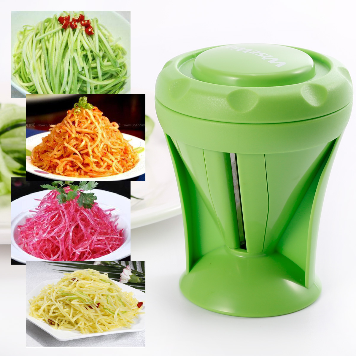 Mandoline coupe l gumes d coupe filament ou tranche - Decoupe legumes coupe legumes oignons et fruits ...