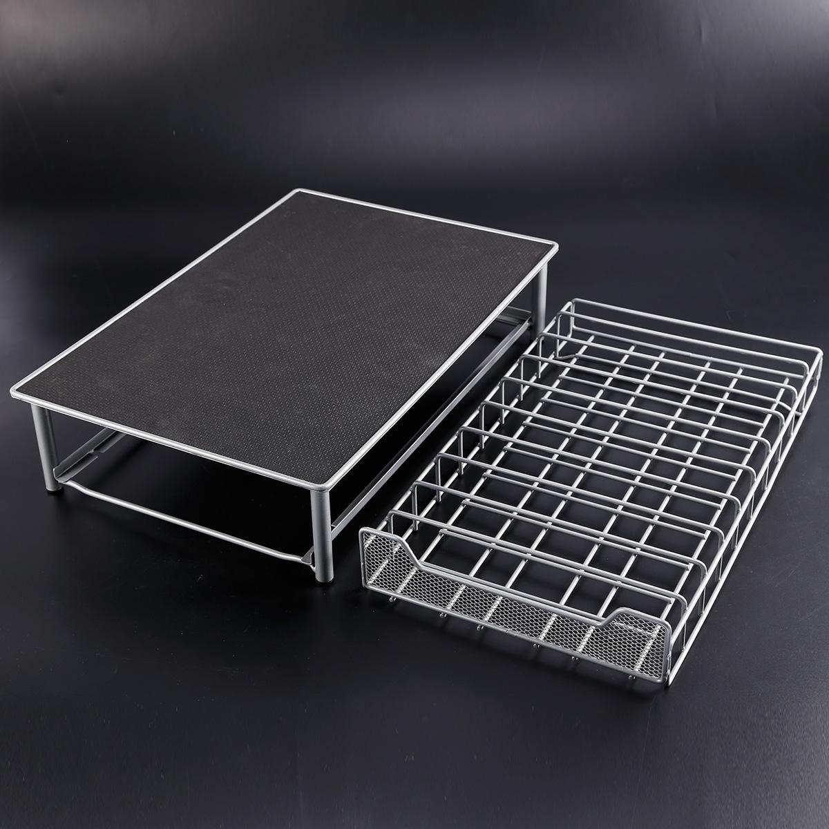 distributeur dosette porte 60 capsule de caf tassimo support tiroir filet m tal ebay. Black Bedroom Furniture Sets. Home Design Ideas