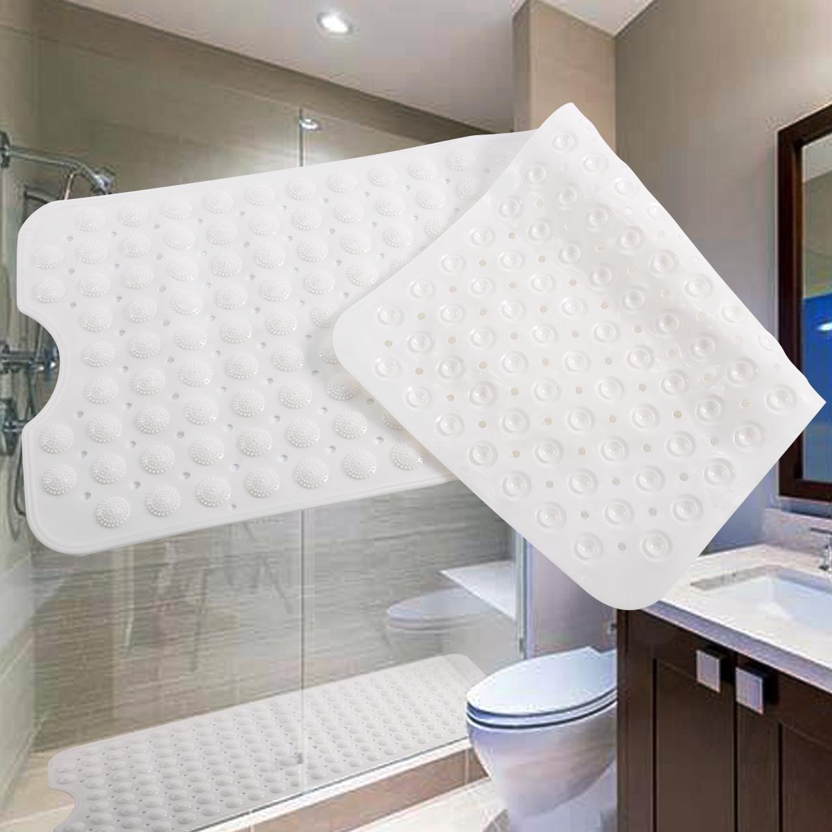 Alfombra antideslizante rectangular con ventosas para ba o for Ventosas para bano
