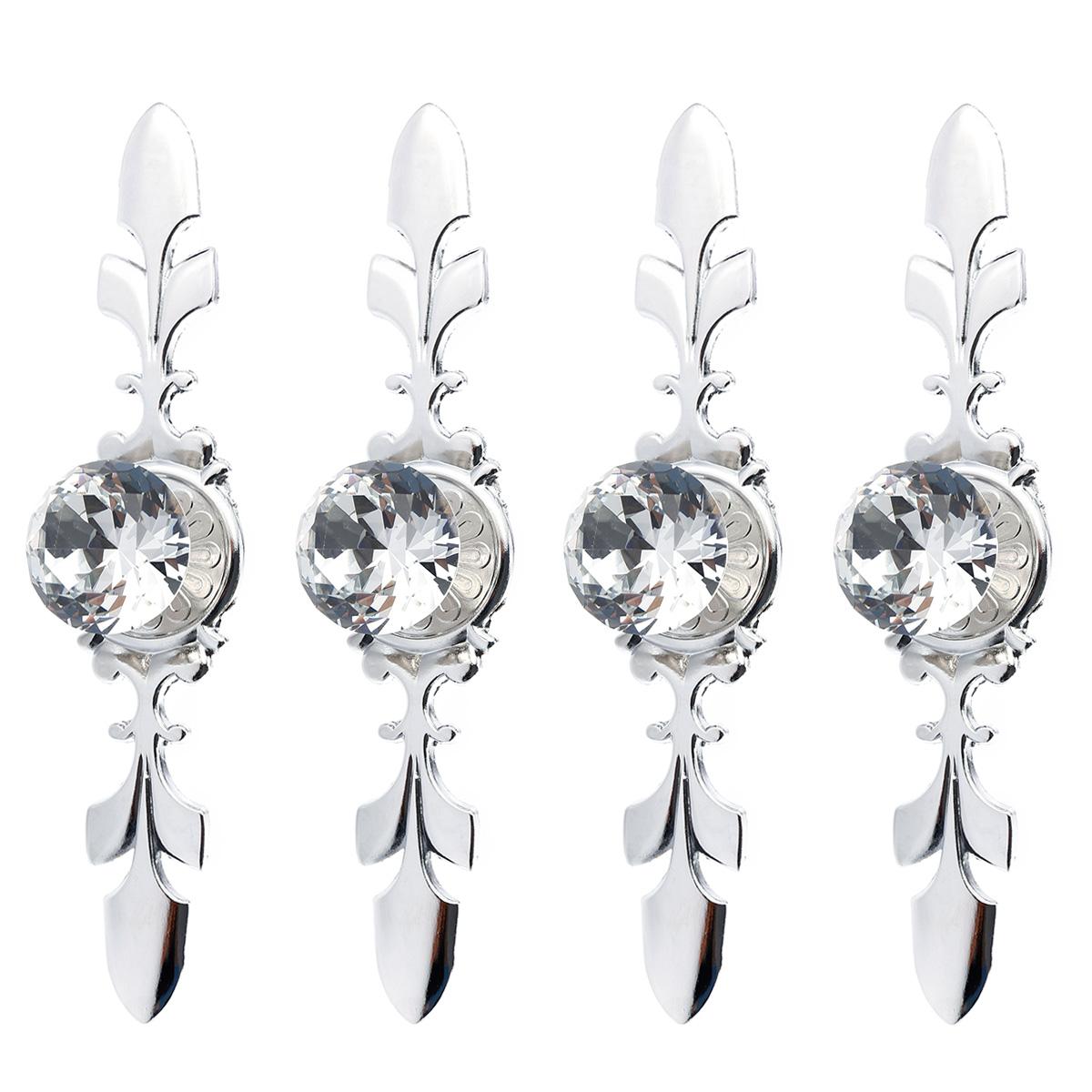 Set maniglia pomelli cristallo vetro strass metallo - Smontare maniglia finestra senza viti ...