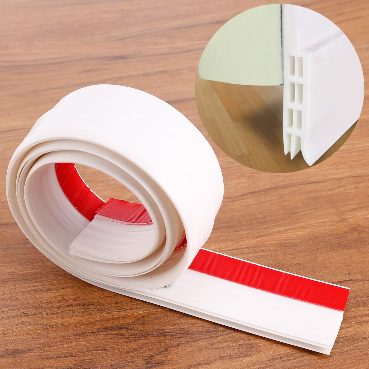 1 metro burlete bajo para puerta burlete barra adhesivo de goma de silicona ebay - Burletes de goma para puertas exteriores ...