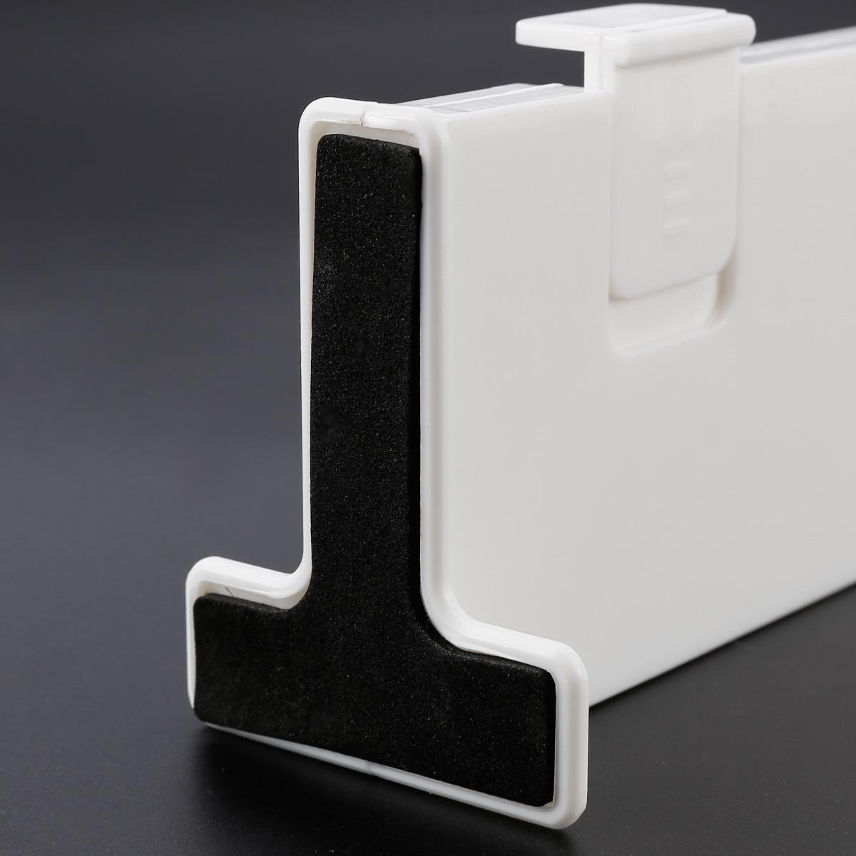 2//4x Diviseur Tiroir Plastique Réglable pour chaussette soutien rangement bureau