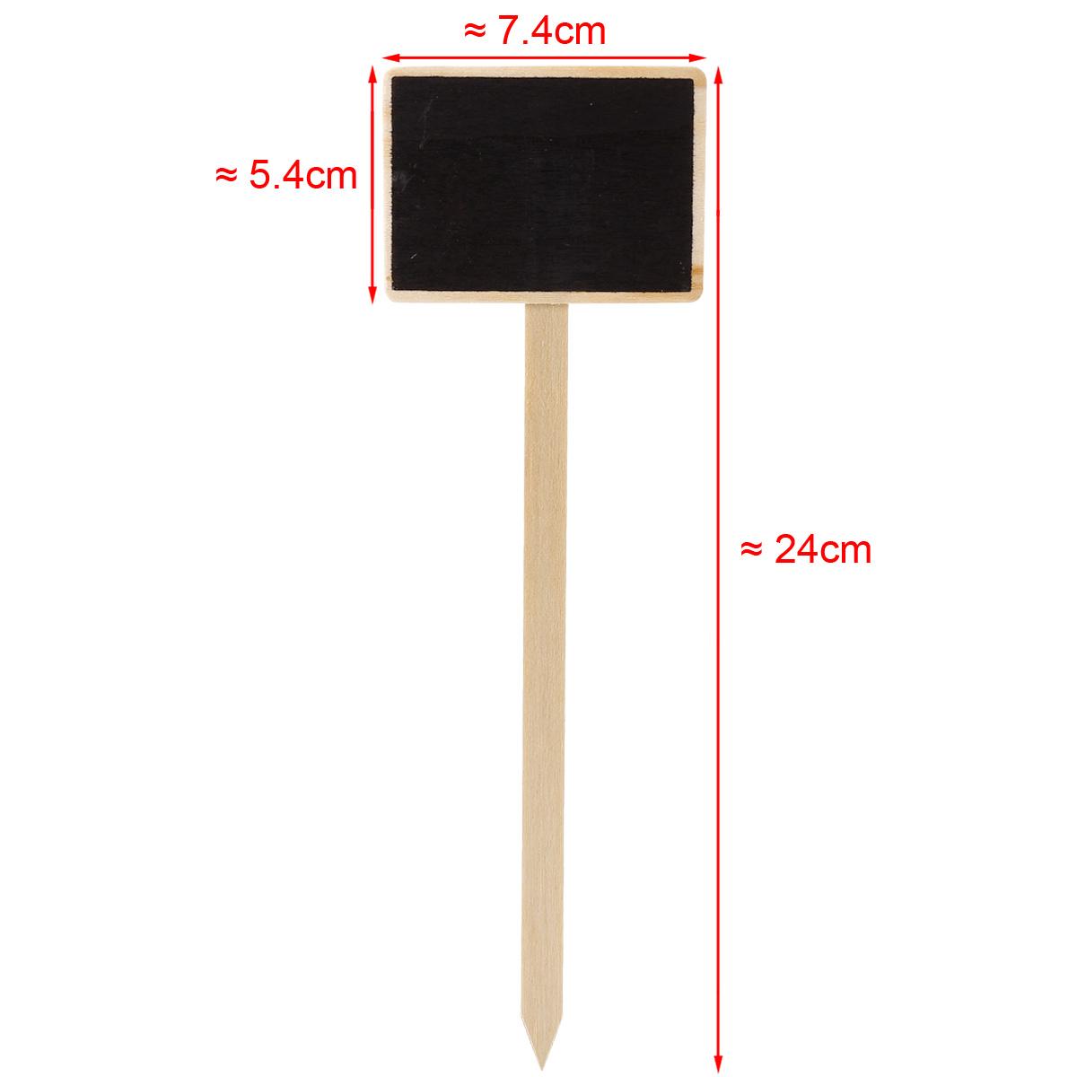 20 x Pflanzenbeschriftung Pflanzentafel Pflanzenschild Pflanzenstecker ca 24cm