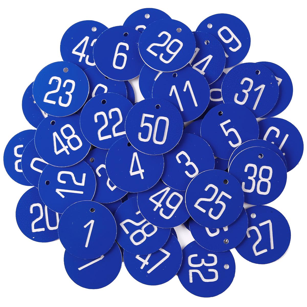 Schlüsselmarken Kennzeichnungsmarken 1-100 ROT Gepäckmarken Zahlenmarken