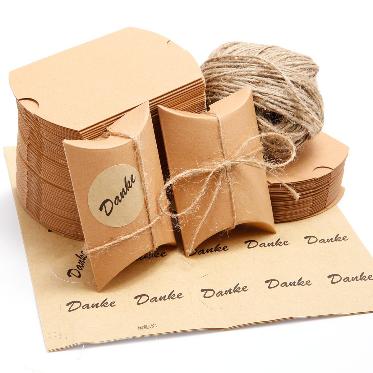 100 tlg Bonboniere Süßigkeiten Geschenkbox Geschenkschachtel für Hochzeit Taufe