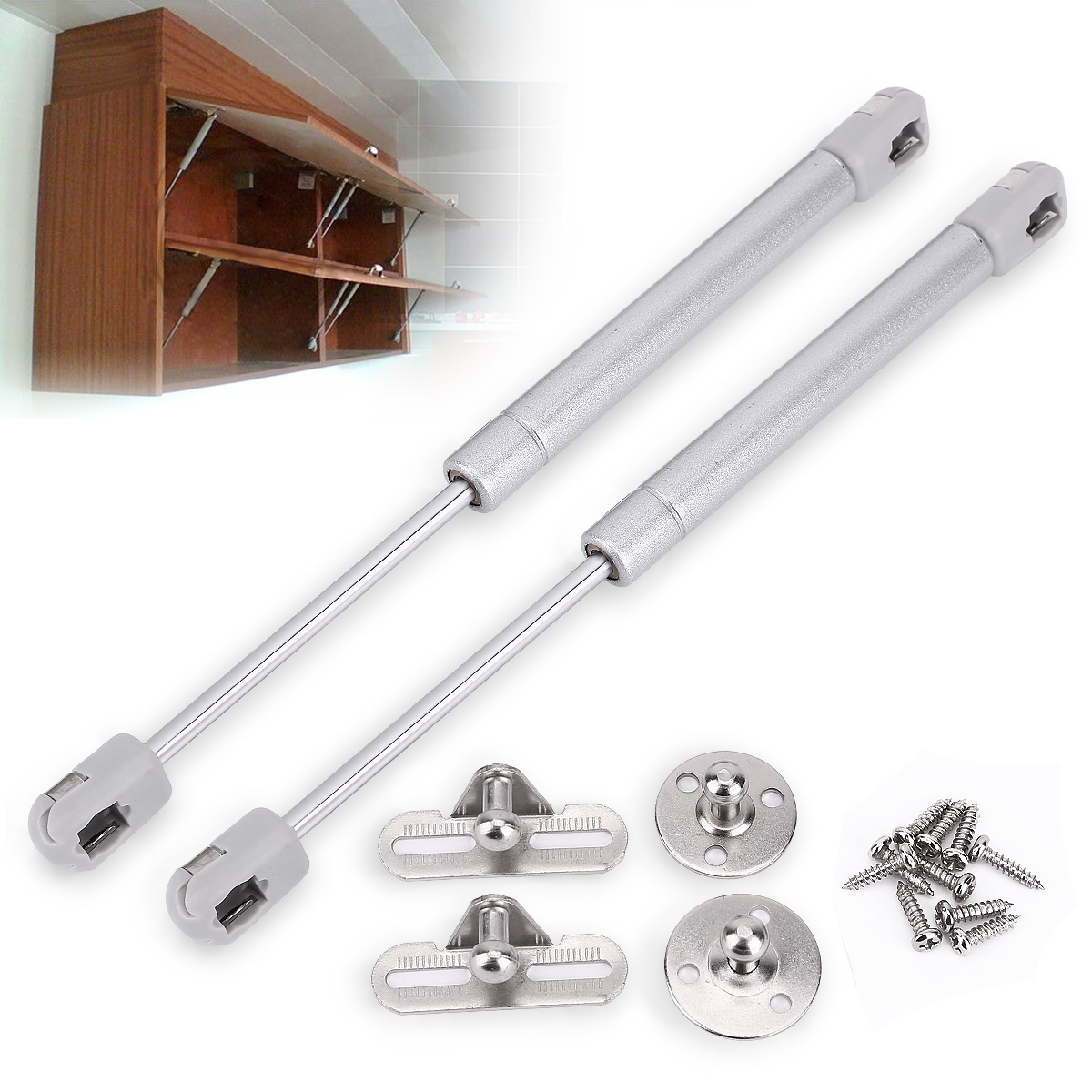 Lift Hinges For Kitchen Cabinets: Kitchen Cabinet Door Lift Up Hydraulic Gas Spring Flap