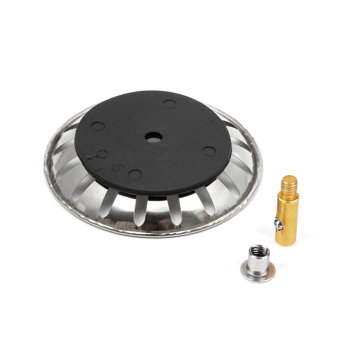 2x filtre évier bouchon d'évier métal 8cm lavabo cuisine +