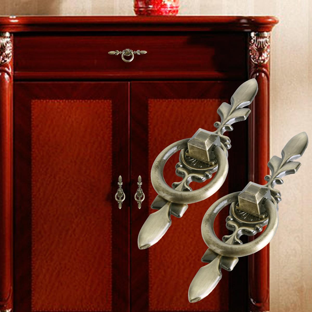 8pcs tirador met lico pomo para puertas cajones armario - Pomos puertas armarios ...