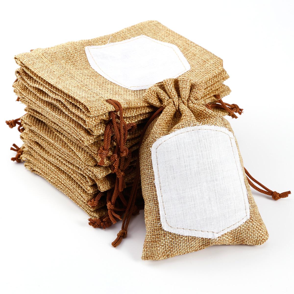 20pcs bolsa de organza bolsitas de tela de saco para - Bolsitas de tela de saco ...
