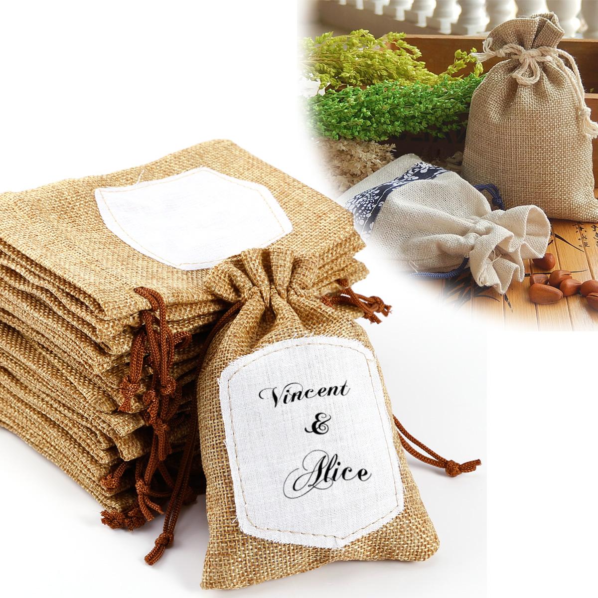 20pcs bolsa de organza bolsitas de tela de saco para - Telas para decorar ...